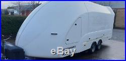Brian James Race Shuttle 5 Enclosed Car Transporter Trailer RS5 PRG Woodford