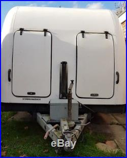 Brian James Race Shuttle car transporter trailer