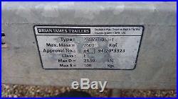 Brian James Race Trailer