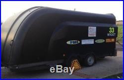 Brian James Sprint Shuttle Race Car Trailer transporter