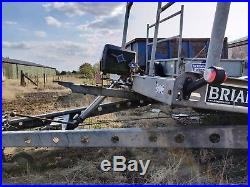 Brian James Tilt Car Transporter Trailer Tyres rack and electric winch