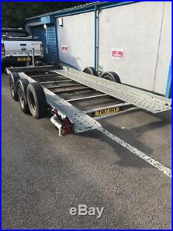 Brian James Tilting twin axle car transporter trailer | Used