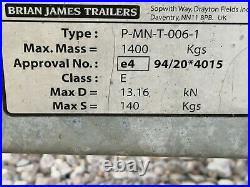 Brian James Twin Axle Car Transporter / Trailer