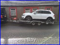 Brian James Twin Axle Hydraulic Tilt Bed Recovery Car Transport Trailer