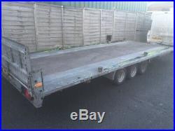 Brian James car trailer transporter triple axle