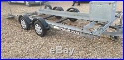 Brian James car transporter race car transporter trailer