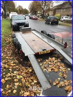 Brian James car transporter trailer 14ft x 6ft with ramps and extras