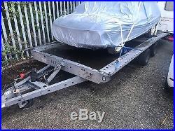 Brian James car transporter trailer 4.85m Hydraulic tilt (low loading height)