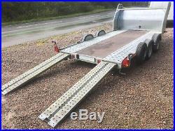 Brian James car transporter trailer A4