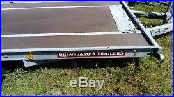 Brian James car transporter with full deck, four new tyres, good condition
