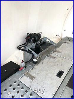 Brian James covered car trailer race transporter 6 VAT INCLUDED