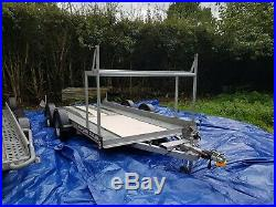 Brian James trailer 4 wheeled Car Transporter