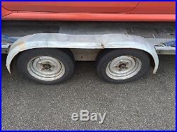 Brian james Amax race car transporter trailer