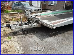 Brian james Hi Max Tilting car transporter trailer