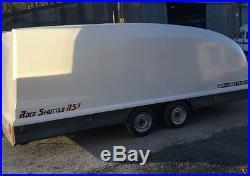 Brian james RS3 2700kg race shuttle car transporter rally trailer VGC no VAT