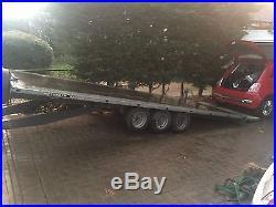 Brian james Tilt-bed car transporter trailer