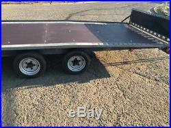 Brian james car or plant twin axle trailer