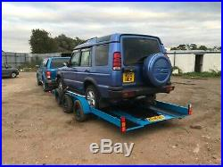 Brian james car transport trailer