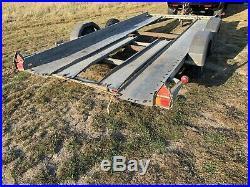 Brian james car transporter trailer 1.5 Ton 14ft