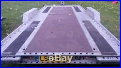Brian james car transporter trailer A Max 2500kg recovery track day CAN DELIVER