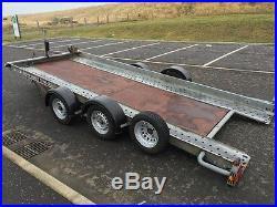 Brian james tilt bed car transporter trailer