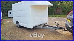 Bt Box Trailer Al-Ko 1600kg Galvanised Chassis, LED lights, Excellent condition
