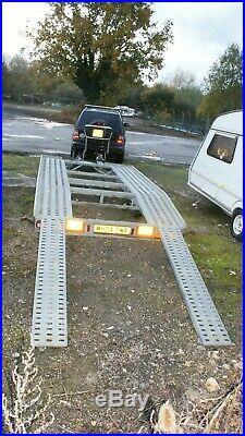 CAR TRANSPORTER TRAILER 2700kg LED lights
