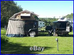 Camping expedition trailer