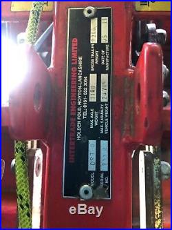 Car Recovery Towing Dolly Collapsable Intertrade Engineering Limited CRT
