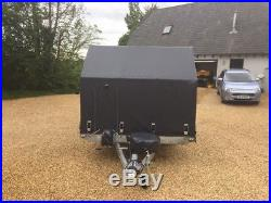 Car Trailer Tranpsorter Ifor Williams Brian James Woodford Covered Car Trailer