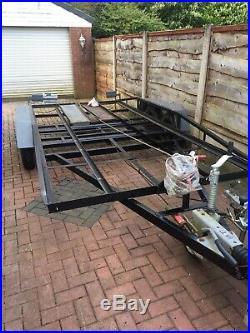 Car Trailer Transporter 14x6.2inch See Pics Read Add Sturdy Bit Of Kit £800