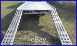Car Trailer Transporter FLAT BED Wheels Under Bed 3000kg