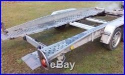 Car Trailer Transporter TILT BED Brenderup