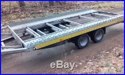Car Trailer Transporter TILT BED Germany Make HUMBAUR