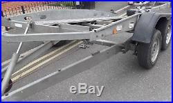 Car Trailer Transporter TILT BED Hydraulic BOCKMANN 2700KG