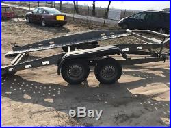 Car Trailer Transporter TILT BED Hydraulic Bockman