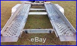 Car Trailer Transporter TILT BED Hydraulic Brenderup