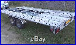 Car Trailer Transporter TILT BED Lowered Cars Easy Loading