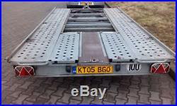 Car Trailer Transporter TILT BED Lowered Cars Easy Loading VGC
