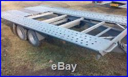 Car Trailer Transporter TILT BED PONGRATZ