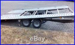 Car Trailer Transporter TILT BED Very Light 400kg Ideal Towing Behind Motorhome
