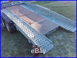 Car Trailer Transporter TILT/FLAT BED Low Car Easy Loading