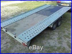 Car Trailer Transporter TILT/FLAT BED Wheels Under Bed