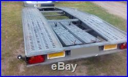 Car Trailer Transporter Wheels Under Bed Lowered Cars Easy Loading