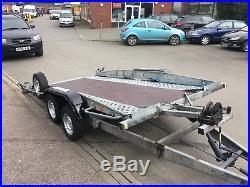 Car Transport Trailer Hydraulic Tilt Bed Twin Axle