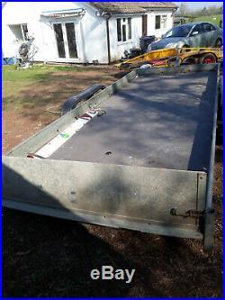 Car Transporter Tilt bed Trailer