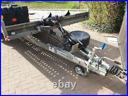 Car Transporter Trailer Brian James T6 Flat Bed Recovery Van Stock Banger Tilt