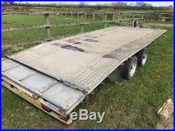 Car Transporter Trailer Flat Bed Tilt Bed 16ft Winch