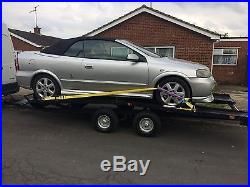 Car Transporter Trailer / Recovery Trailor, with ramps and new electrics