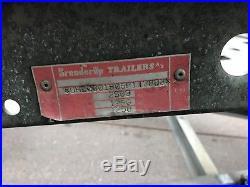 Car Transporter Trailer TILT BED Brendrup 2500kg